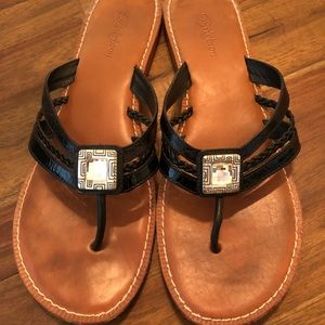Brighton Octave Sandals (Black)